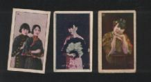 OLD CHINA Pretty ladies cigarette cards  #223